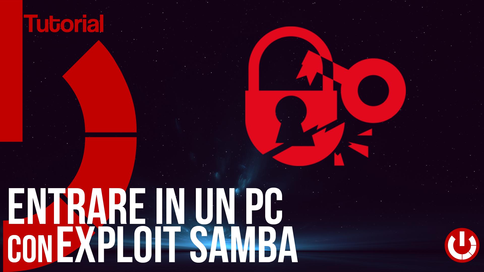 Entrare in un pc con exploit samba tecnogalaxy - Entrare in una porta ...